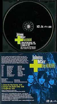 Johnny Marr + the Healers 3 track promo