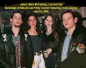 backstage April 6 1992