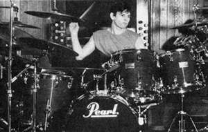 Zak at Pearl kit 1987