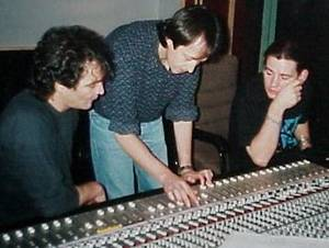 Zak at Abbey Road during recording